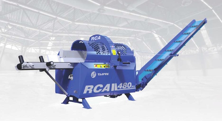Strojevi za rezanje i cijepanje Tajfun
